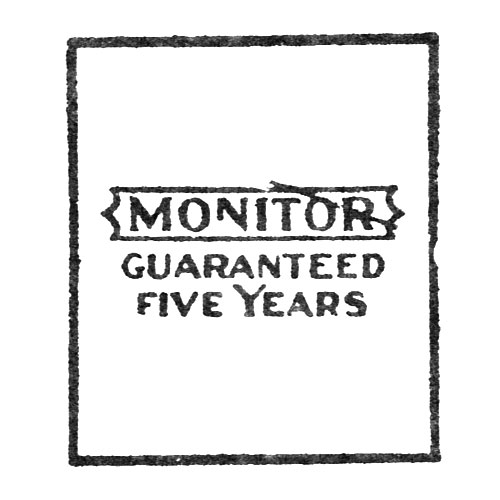 Monitor Guaranteed Five Years (Elgin Giant Watch Case Co.)