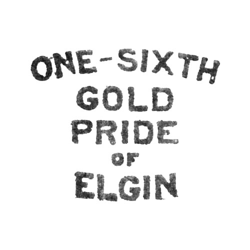 One-Sixth Gold Pride of Elgin (Elgin Giant Watch Case Co.)
