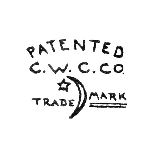 Patented C.W.C.Co. Trade Mark. [Crescent and Star] (Keystone Watch Case Co.)