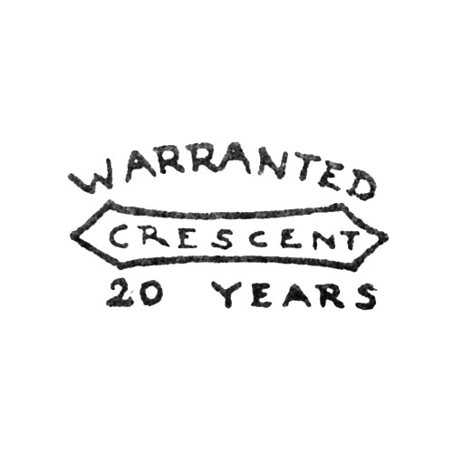 Crescent Warranted 20 Years (Keystone Watch Case Co.)