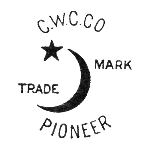 C.W.C.Co Trade Mark. [Crescent and Star] Pioneer (Keystone Watch Case Co.)