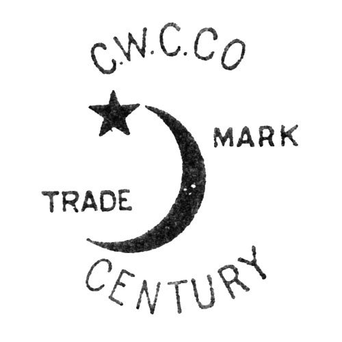 C.W.C.Co Trade Mark. [Crescent and Star] Century (Keystone Watch Case Co.)