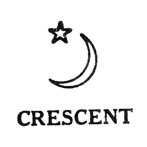Crescent [Crescent and Moon] (Keystone Watch Case Co.)