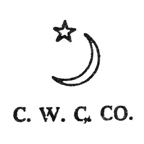 C.W.C.Co. [Crescent and Star] (Keystone Watch Case Co.)