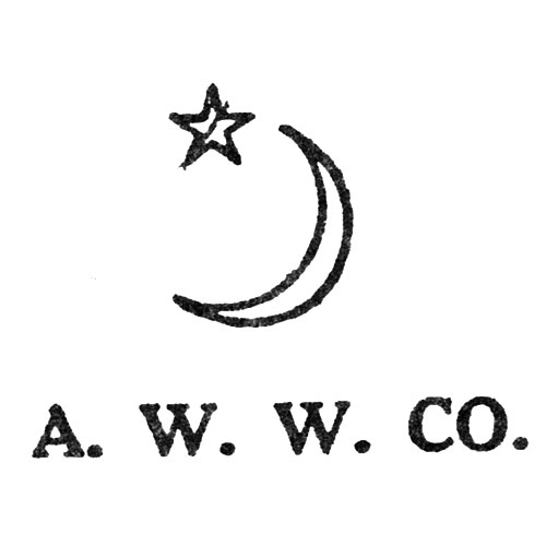 A.W.W.Co. [Crescent and Star] (Keystone Watch Case Co.)