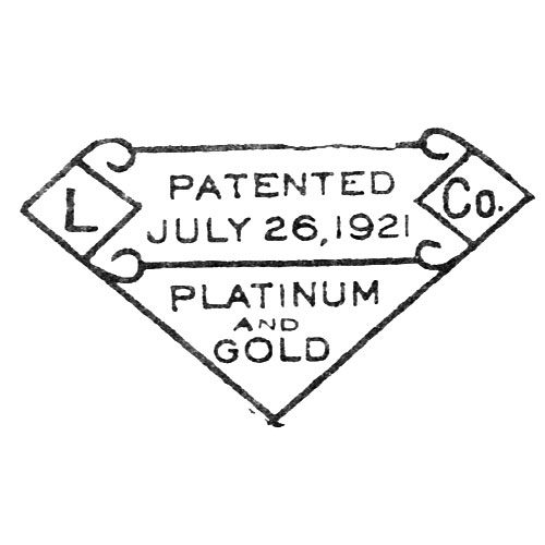 L. Co. Patented July 26, 1921 Platinum And Gold (L. Lewitt & Co. Inc.)