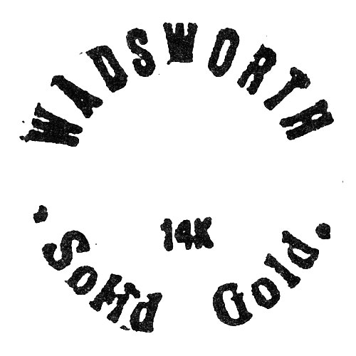 Wadsworth Solid Gold 14k (Wadsworth Watch Case Co.)