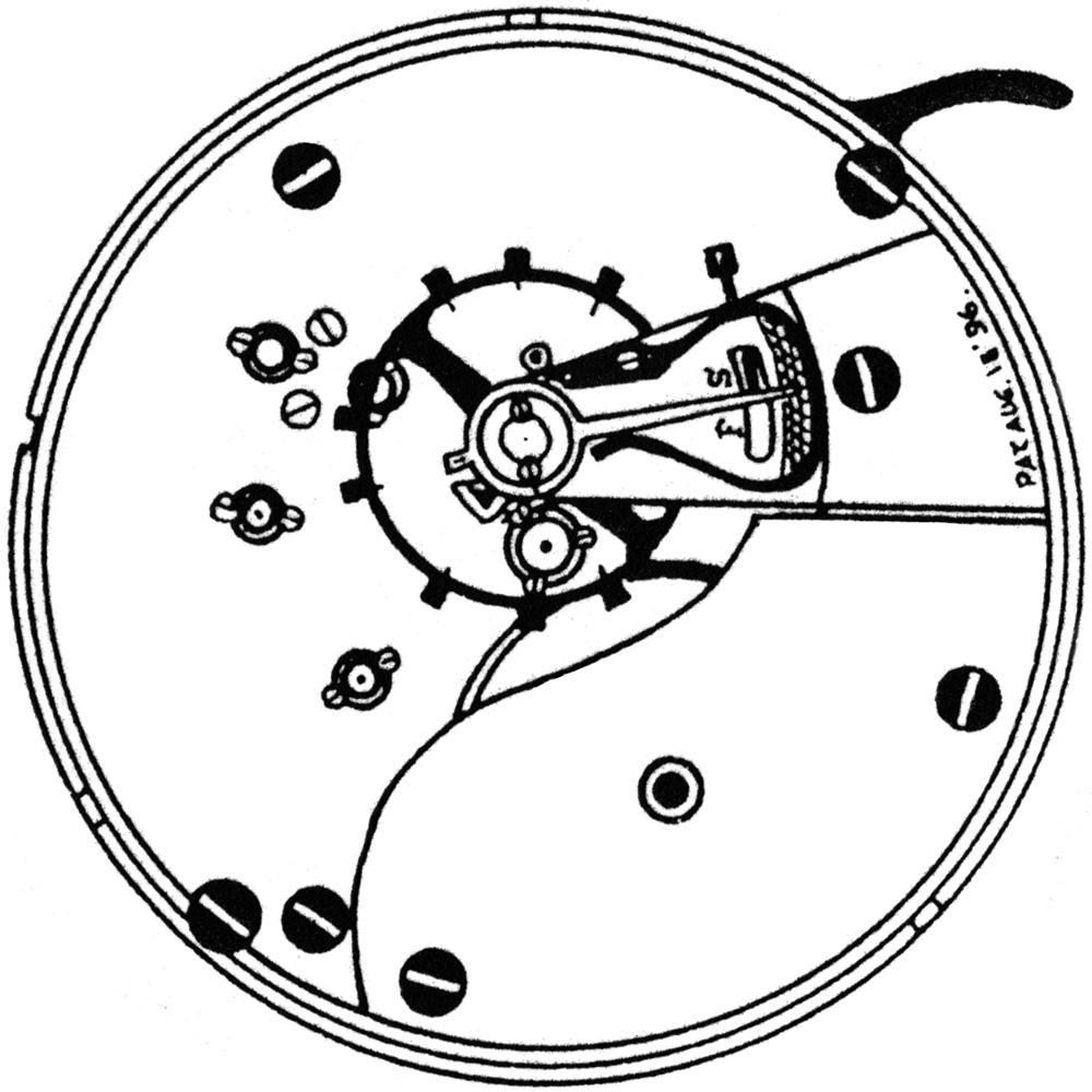 Ball - Elgin Pocket Watch Grade 334 #11858251