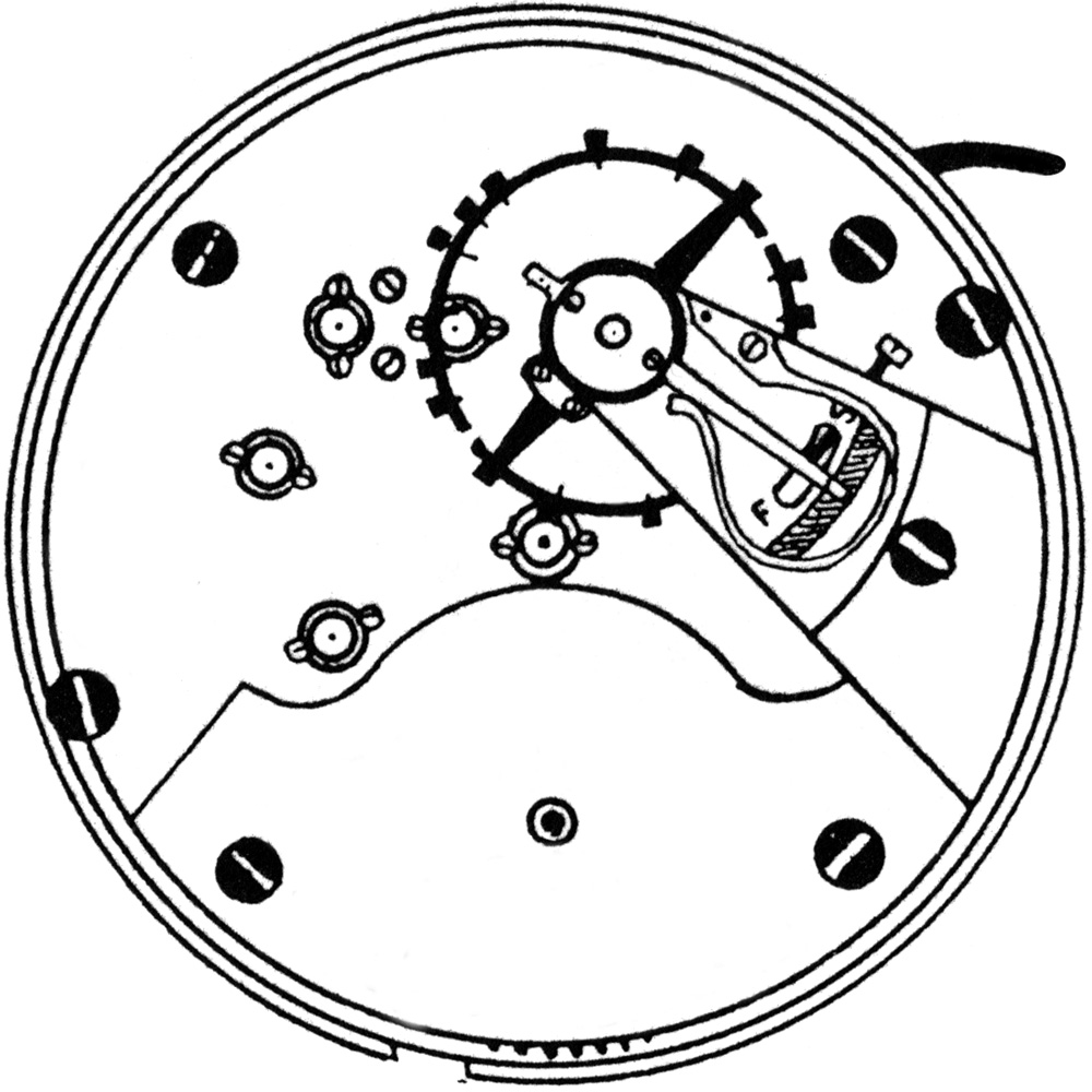 Ball - Hamilton Grade 999A Pocket Watch Image