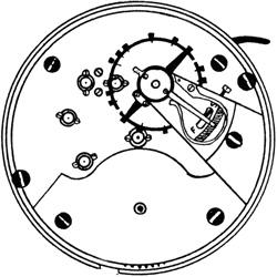 Ball - Hamilton Pocket Watch #486200