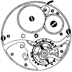 Ball - Hamilton Pocket Watch Grade 999B #1B16442