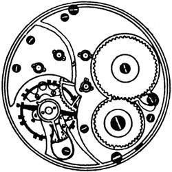Ball - Illinois Pocket Watch Grade Commercial Standard #B406958
