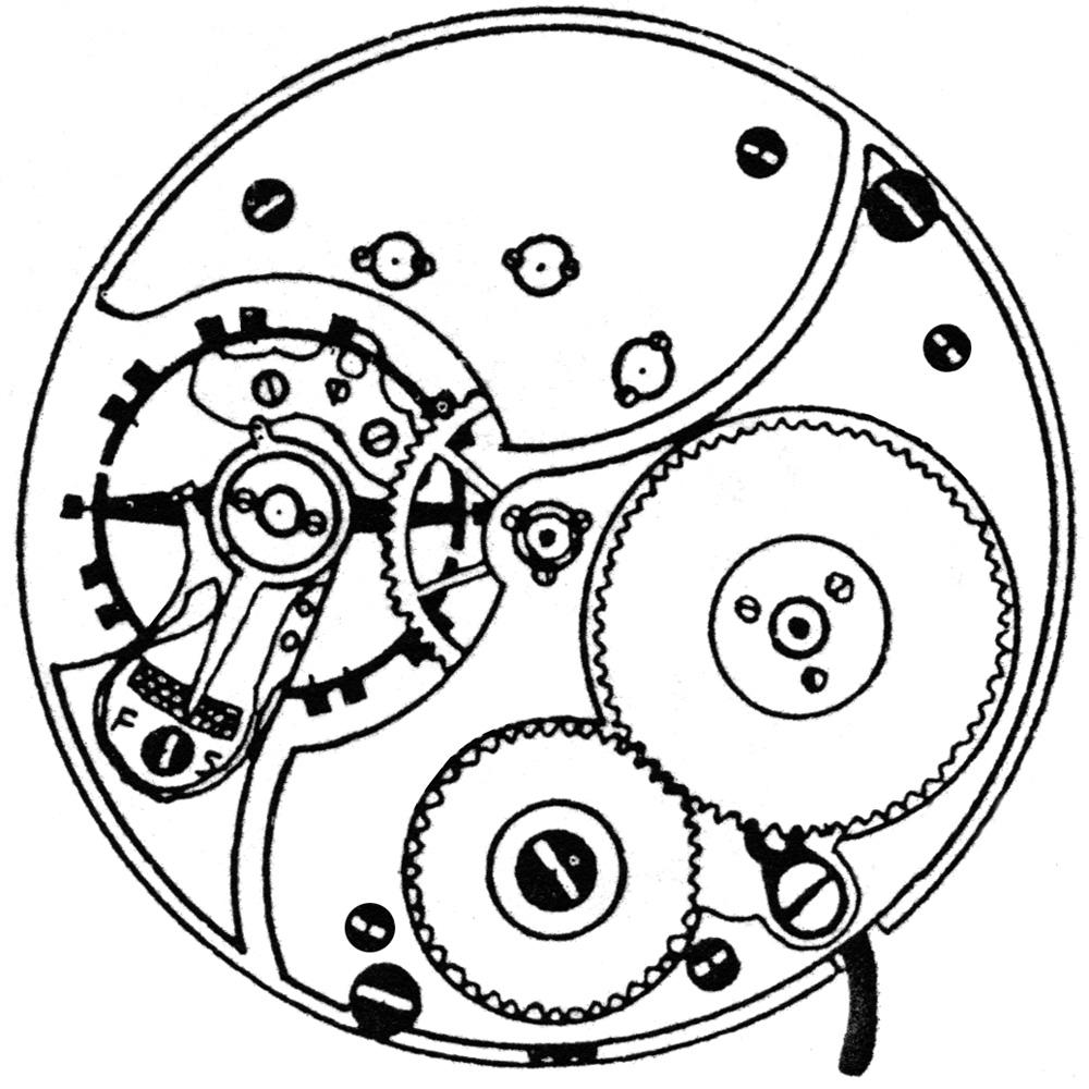 Ball - Illinois Grade 810 Pocket Watch Image