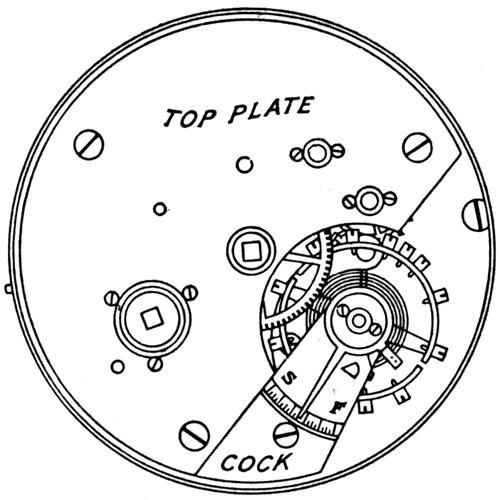 Elgin Grade 53 Pocket Watch Image