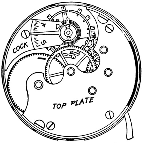 Elgin Grade 101 Pocket Watch Image