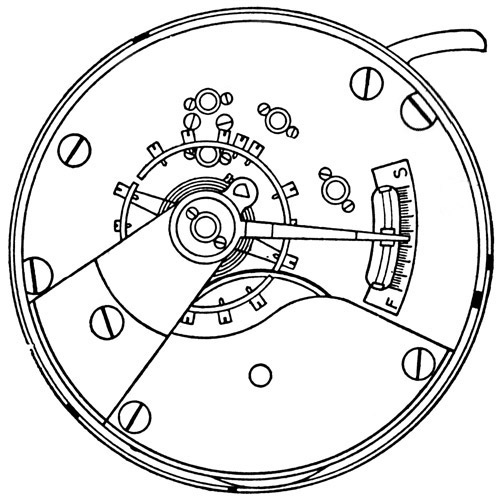 Elgin Grade 296 Pocket Watch Image