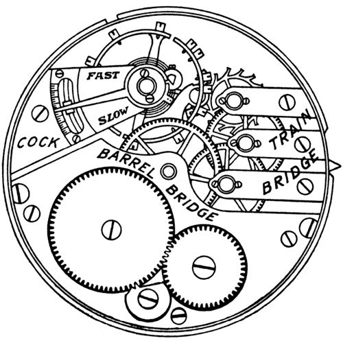 Elgin Grade 339 Pocket Watch Image