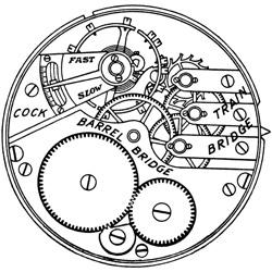 Elgin Pocket Watch Grade 247 #8929336