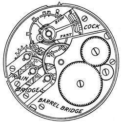 Elgin Pocket Watch #9192694