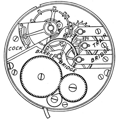 Elgin Grade 341 Pocket Watch Image