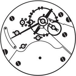 Hamilton Grade 930 Pocket Watch Image