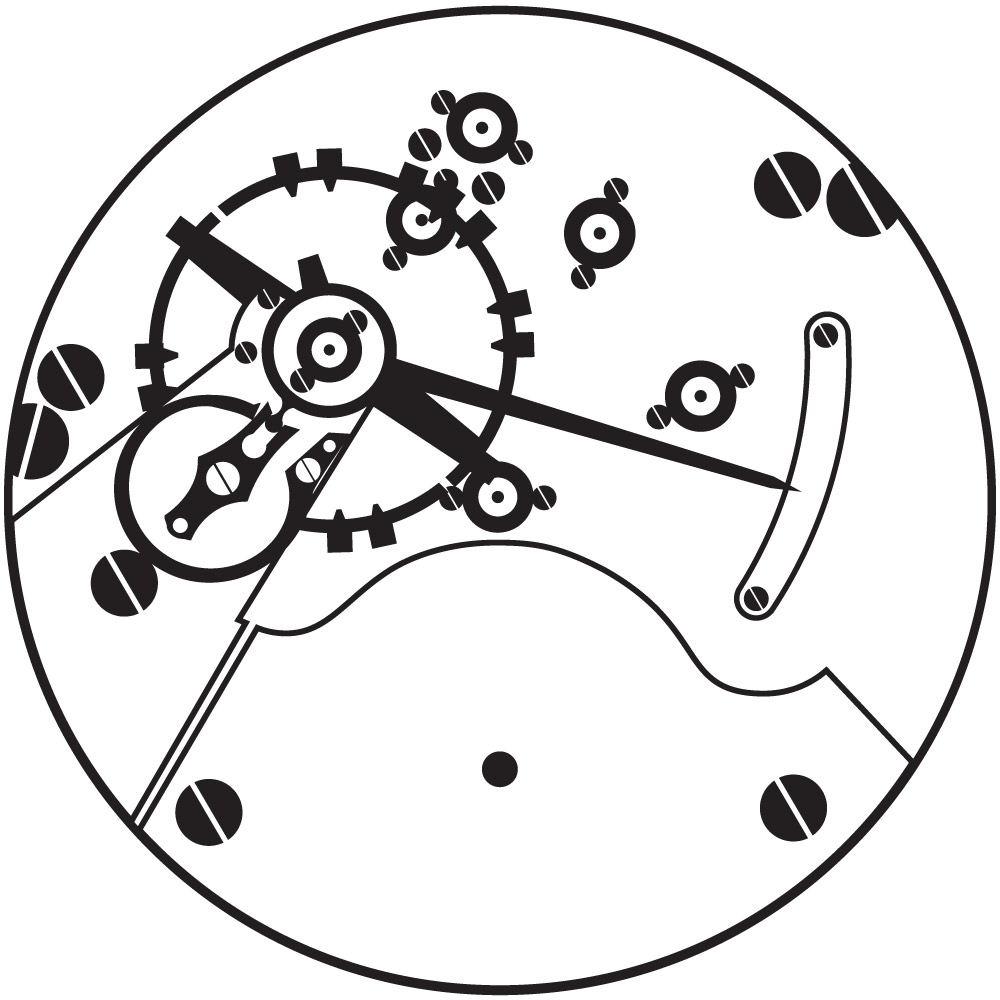 Hamilton Grade 925 Pocket Watch Movement