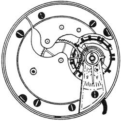 Hampden Pocket Watch #1091116