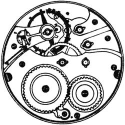 Hampden Grade No. 95 Pocket Watch Movement