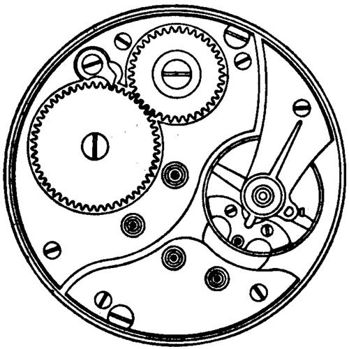 Illinois Pocket Watch Grade 33 #2533970