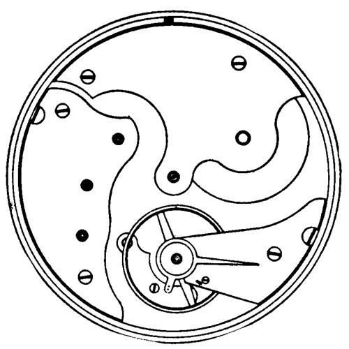 Illinois Grade 140 Pocket Watch Image