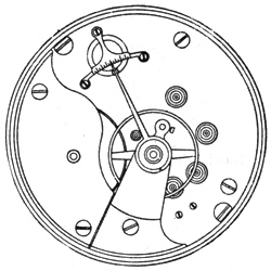 Illinois Grade 101 Pocket Watch Movement