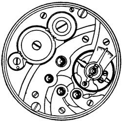 Illinois Grade 905 Pocket Watch Image