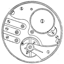 Illinois Pocket Watch Grade 185 #2127135