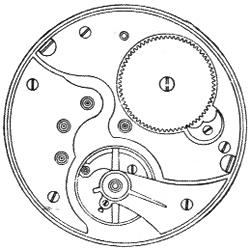 Illinois Grade 172 Pocket Watch Movement