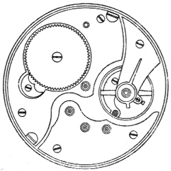 Illinois Grade 176 Pocket Watch Movement