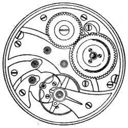 Illinois Pocket Watch Grade 410 #3847170