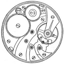 Illinois Grade 706 Pocket Watch Image
