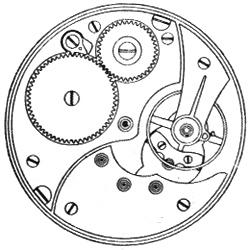 Illinois Pocket Watch Grade 706 #3778447