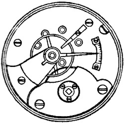 Rockford Grade Unknown Pocket Watch Movement