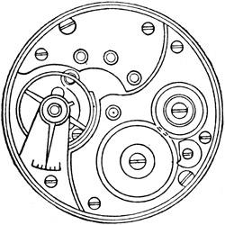 Rockford Pocket Watch #735115