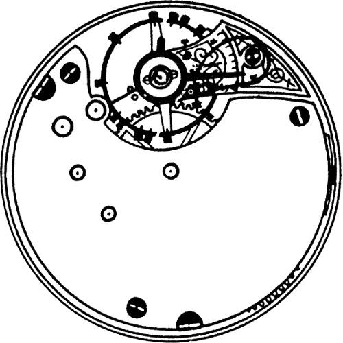 Seth Thomas Pocket Watch Grade 44 #5036