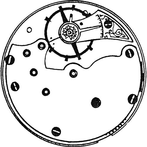 Seth Thomas Pocket Watch Grade Unknown #1141339