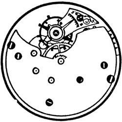 Seth Thomas Pocket Watch #3096754