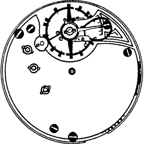 Seth Thomas Pocket Watch Grade 33 #21264