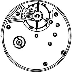 Seth Thomas Pocket Watch Grade 11 #36089