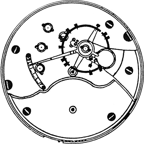 Seth Thomas Grade 159 Pocket Watch Image