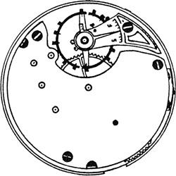 Seth Thomas Pocket Watch #556070