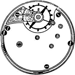 Seth Thomas Pocket Watch #573895