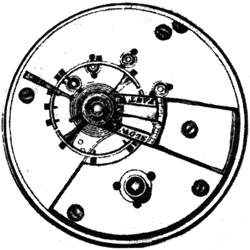 Waltham Grade P.S. Bartlett Pocket Watch Movement