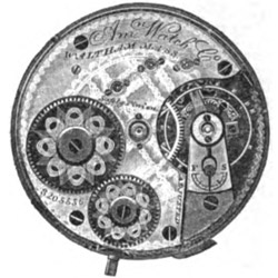 Waltham Grade A.W.Co. Pocket Watch Image